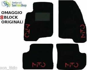 ALFA-ROMEO-MITO-ALFOMBRILLAS-TUNING-COCHE-4-LOGOTIPOS-8-BLOQUE