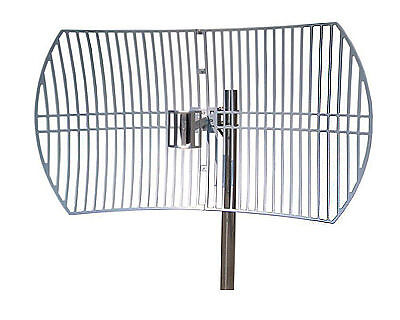 ZDA Parbolic Grid Antenna, 2.6GHz, 24 DBi gain, for Clearwire 4G WiMax