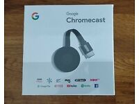GOOGLE CHROMECAST 2 HDMI WiFi Media Streaming Device 1080p NC2-6A5- BARGAIN-