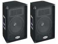 SPECIAL OFFER LIVE PA SPEAKER x4 @ AMP X2 BUNDLE