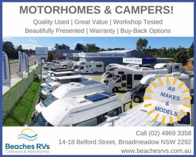 MOTORHOMES FOR SALE, All makes and models!