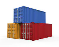 20' - 40' STEEL SEA STORAGE / SHIPPING CONTAINERS FOR SALE