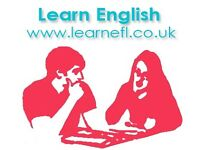 English lessons with professional, fully qualified & friendly teacher