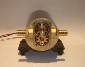 NEW-Gear-Pump-For-Oil-And-Water-Discharge-12-Volts-Unlike-Groco-12V-GRO-GPB1
