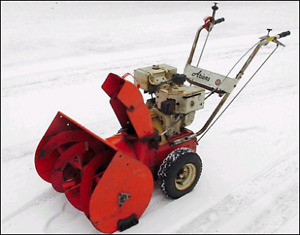 Wanted: gas snowblower
