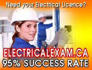 Your class starts in 2 wks-Electrician Licence.Call to register.