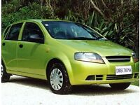 Daewoo Karlos; reliable cheap car.