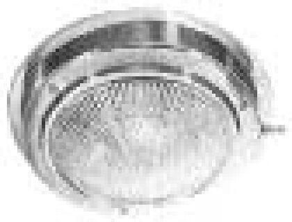 """Marpac Dome Light Lens Diameter 4"""" Outside Diameter: 5-1/2"""" 7-0578 LT100350 MD"""