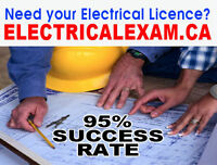 I did pass my electrical exam in fact, passed with flying colour