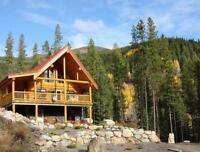 Panorama Mtn Village, BC Excellent Opportunity  2 Log Chalets