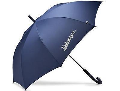 Brand New Genuine Volkswagen Large Umbrella In Blue, Diameter 110- 000087600F530