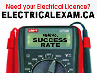 I passed with a 79%-Need your electrical licence?