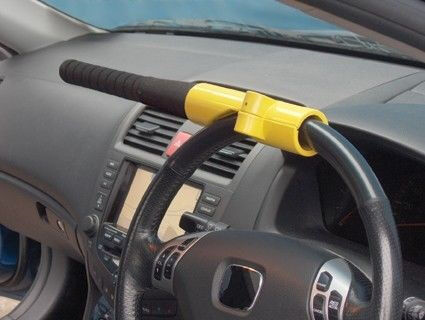 Baseball Bat Style Steering Wheel Security Lock