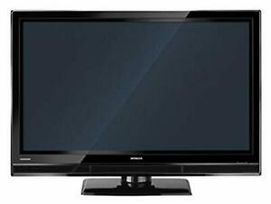 50'' Plasma TV Hitachi Black