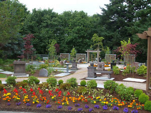 4 Burial Grave Plots side-by-side - Capital Memorial Gardens