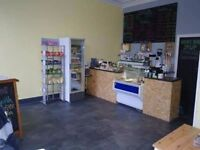 Completely refurbished Cafe/coffee shop for sale