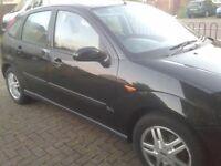 2001 FORD FOCUS 1.8 13 MONTHS MOT CLEAN N TIDY CAR