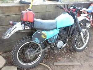looking for 1 or 2 project dirt bikes running or not