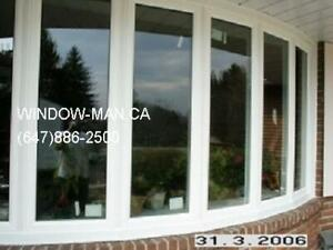 Replacement Vinyl Bow 6-panels Window  GTA and surroundings