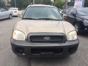 2004 Hyundai Santa Fe GL