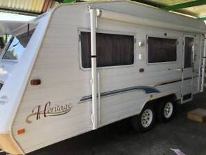ID2005 Jayco Heritage 18' Tandem A/C R/out & walls Cowra Cowra Area Preview