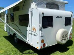 ID 2050 Jayco 17' Pop Top Twin beds Aircon Solar R/out & walls Toilet Cowra Cowra Area Preview