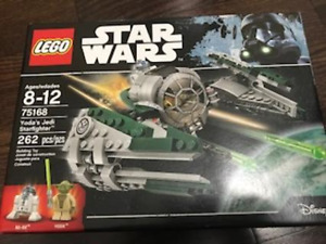 LEGO Star Wars Yoda's Jedi Star Fighter 75168 Retired Brand New