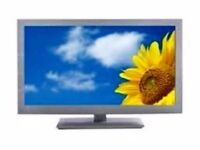 """32"""" INCH BUSH LED HD TV WITH BUILT IN FREEVIEW PURCHASE RECEIPT ,ORIGINAL BOX AND REMOTE"""