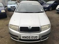 2005 Skoda Fabia, starts and drives well, being sold as spares or repair due to no MOT, car located