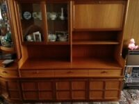 1970's Nathan Classic Furniture - display cabinets