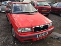 cheap car skoda felicia very low milage good runner