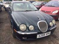 jaguar s-type cheap car starts and drives