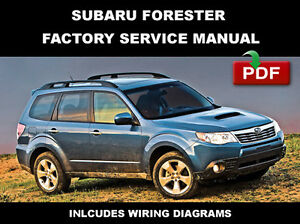 subaru forester repair manual ebay. Black Bedroom Furniture Sets. Home Design Ideas
