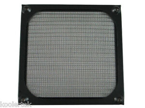 80mm Black Anodized Aluminum Mesh PC Computer Case Fan Grill / Guard / Filter