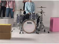 Natal Ash Drum Kit