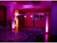 Professional Mobile Disco, Wedding DJ, Birthday DJ, Mobile DJ Services, mood lighting, pa hire,
