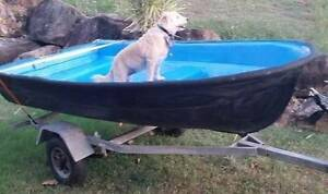 Small Dinghy with 3.5 HP Outboard on trailer Registered Wynnum Brisbane South East Preview