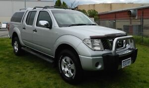 06 Navara ST-X TurboDiesel 4x4 Auto DCab with NO DEPOSIT FINANCE* O'Connor Fremantle Area Preview