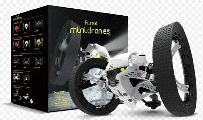 Parrot Minidrone Buzz Jumping Night Drone White New in Box