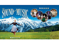 2 x tickets for Sound of Music matinee production TODAY at Hall for Cornwall Truro 2.30pm