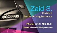 $5 OFF EACH LESSON----SUMMER SPECIAL----Driving lessons, school