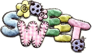 SWEET-W-LADYBUGS-GINGHAM-EMBROIDERED-IRON-ON-APPLIQUE-PASTELS