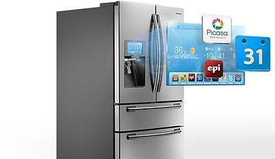 The humble fridge is getting smart