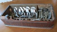 Antique Sewing Kit: Domestic, Raymond, Accessory, Rotary, Singe