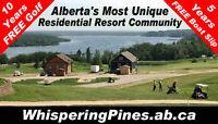 Retire to Alberta's Best Gated Lakeside Golf Snowbird Community