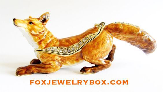 Fox Jewelry Box