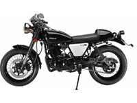 Herald Classic 250cc Cafe Racer Black and White bike in stock @ only £1999 + OTR charges
