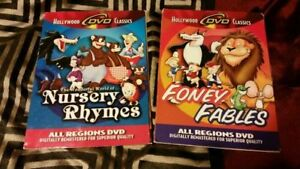 Foney Fables & Nursery Rhymes 2 Looney Tunes dvds-new-$5 each