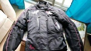 Manteau de moto pour femmes