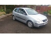 2002 Volkswagen Polo Moted till January £460